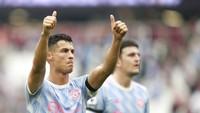 Lihat De Gea Hadapi Penalti, Ronaldo Sampai Jongkok-jongkok