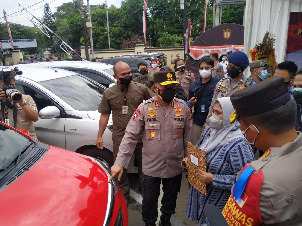 Polres Depok Sita 40 Mobil Hasil Kejahatan, Korban Dipersilakan Ambil