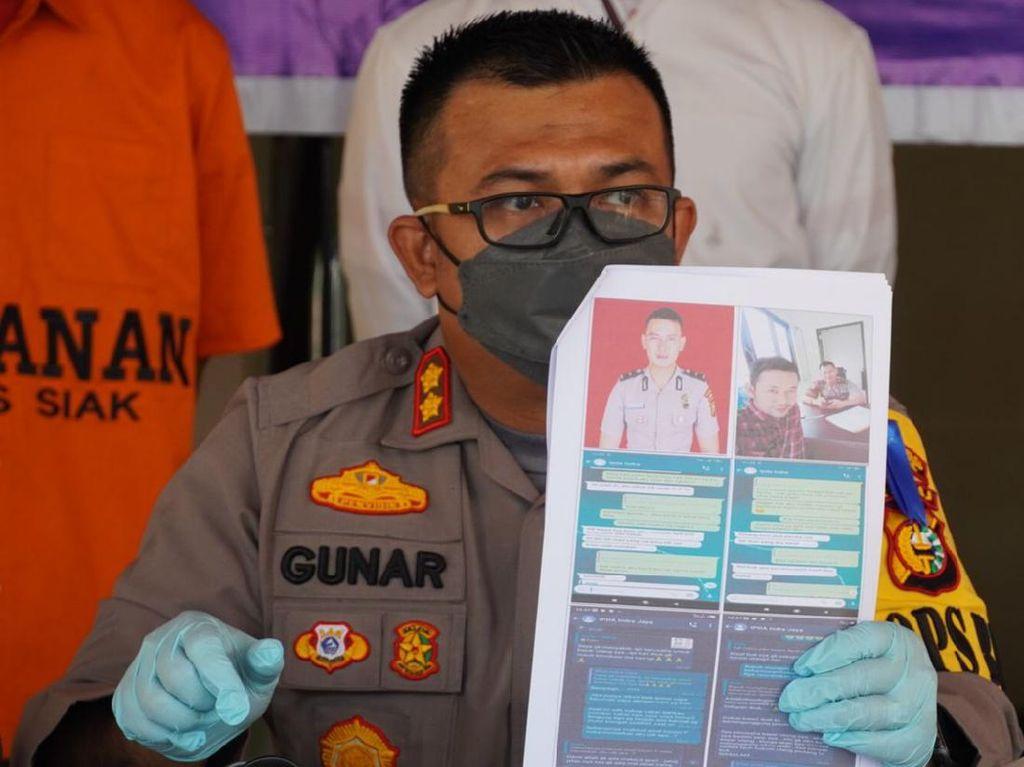 Jadi Polisi Gadungan, Pemulung di Riau Tipu Warga Rp 382 Juta Lewat WA