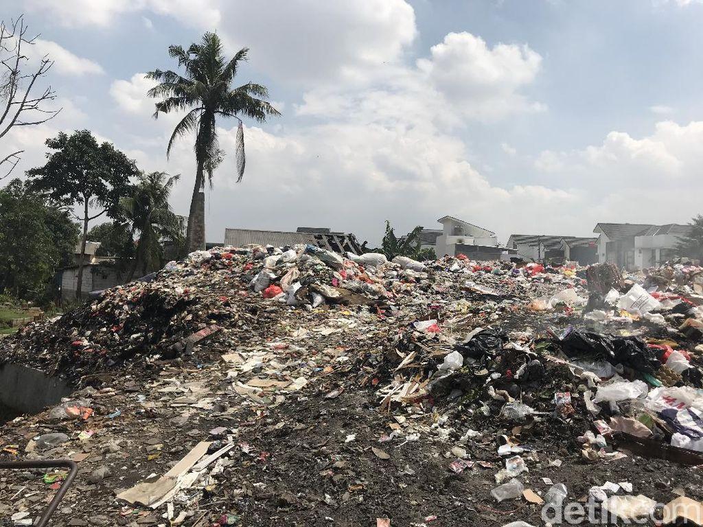 Video Lahan Sampah di Tengah Permukiman Bikin Resah Warga Tangsel