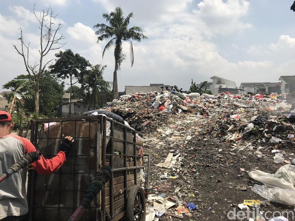 Pemkot Tangsel Sebut Lahan Sampah di Pondok Betung Pembuangan Liar
