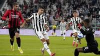 Juventus Vs AC Milan: Imbang 1-1, Bianconeri Masuk Zona Degradasi