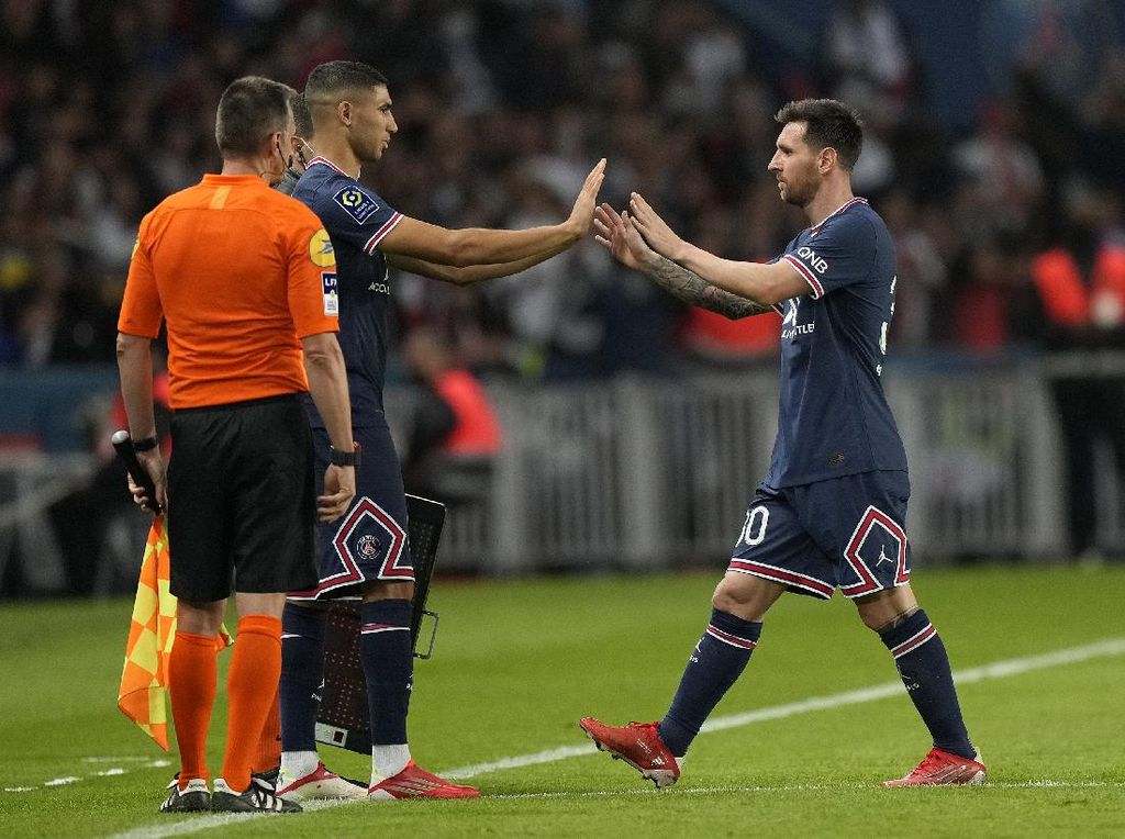 Kayak Begini Sikap Messi yang Sebenarnya, Bikin Hakimi Kaget!