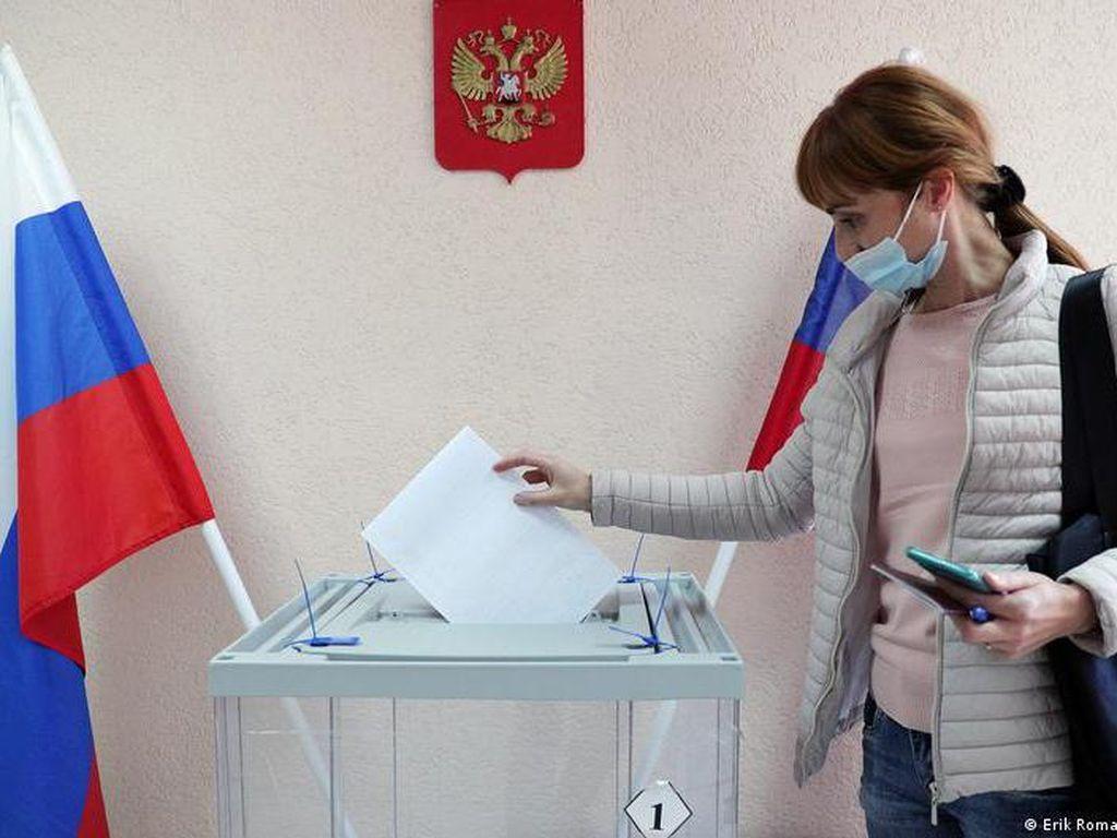 Partai Berkuasa Rusia Kembali Menang di Pemilu Parlemen