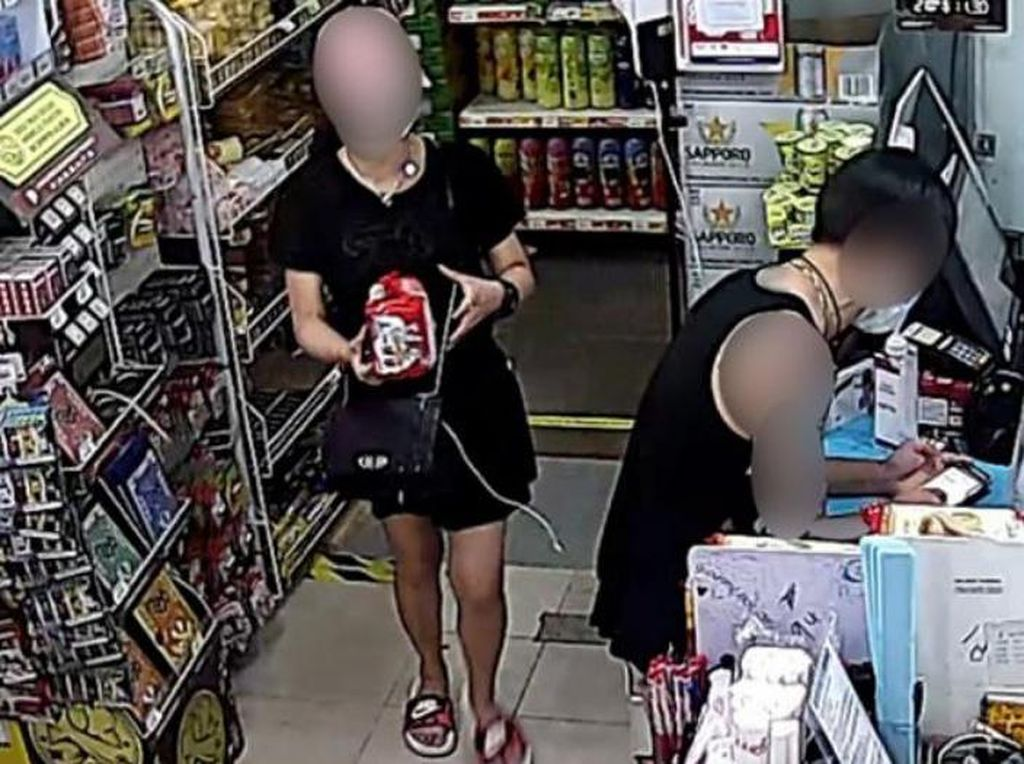 Pergoki Pasangan Mencuri Bareng Anak, Minimarket Ini Malah Tulis Pesan Haru