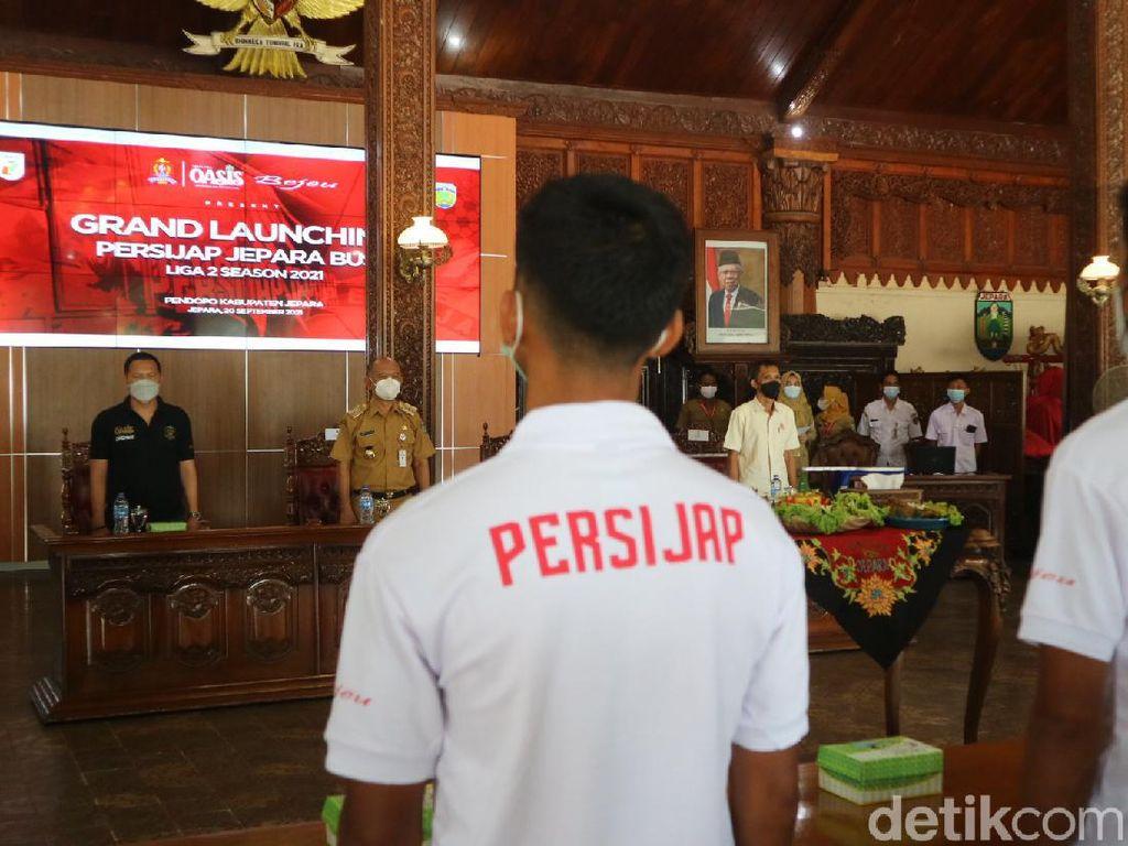 Persijap Dilepas Bupati Jepara, Diharapkan Juara Liga 2
