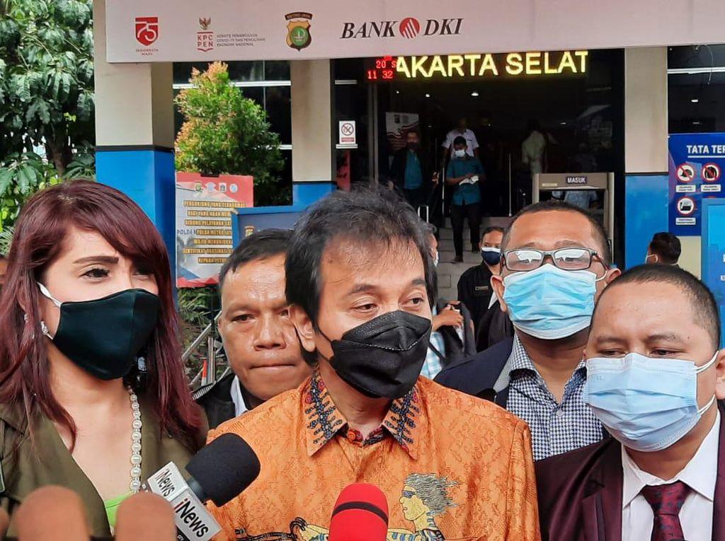 Roy Suryo Diperiksa Polisi Pagi Ini soal Cuitan Ferdinand Hutahaean