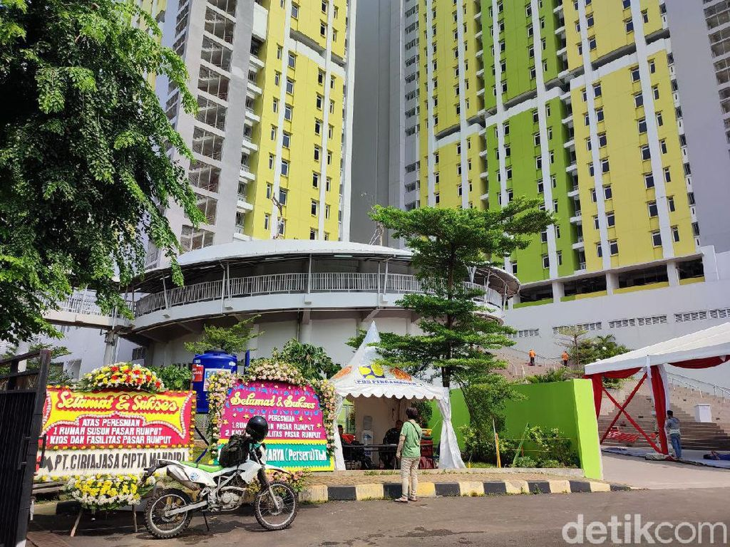 Melihat Lebih Dekat Rusun Pasar Rumput yang Baru Diresmikan Jokowi
