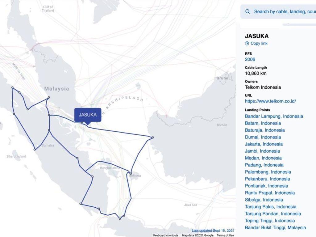 Layanan IndiHome-Telkomsel Pulih, Kabel Laut Jasuka Bagaimana?