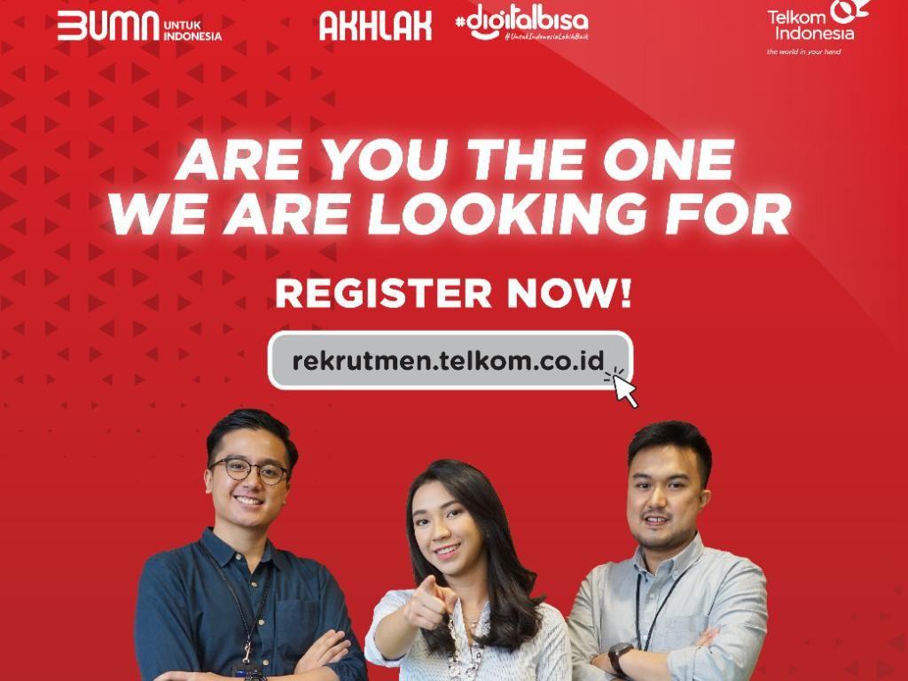 Kamu Talenta Digital Potensial? Gabung ke Telkom