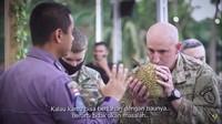 Reaksi Tentara Amerika Saat Cicip Durian dan Pempek Pertama Kali