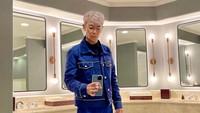 Gantengnya T.O.P BIGBANG Pamer Rambut Silver!