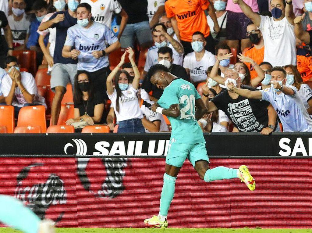 Beruntungnya Real Madrid Punya Vinicius