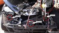 Jeep Rilis Foto Hasil Investigasi Mobil Bos Garansindo yang Tak Keluar Airbag