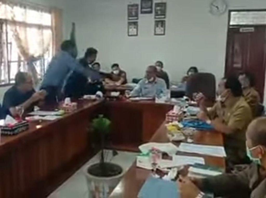 Dipolisikan Gegara Siram Ketua DPRD Humbahas, Anggota Dewan Siap Hadapi