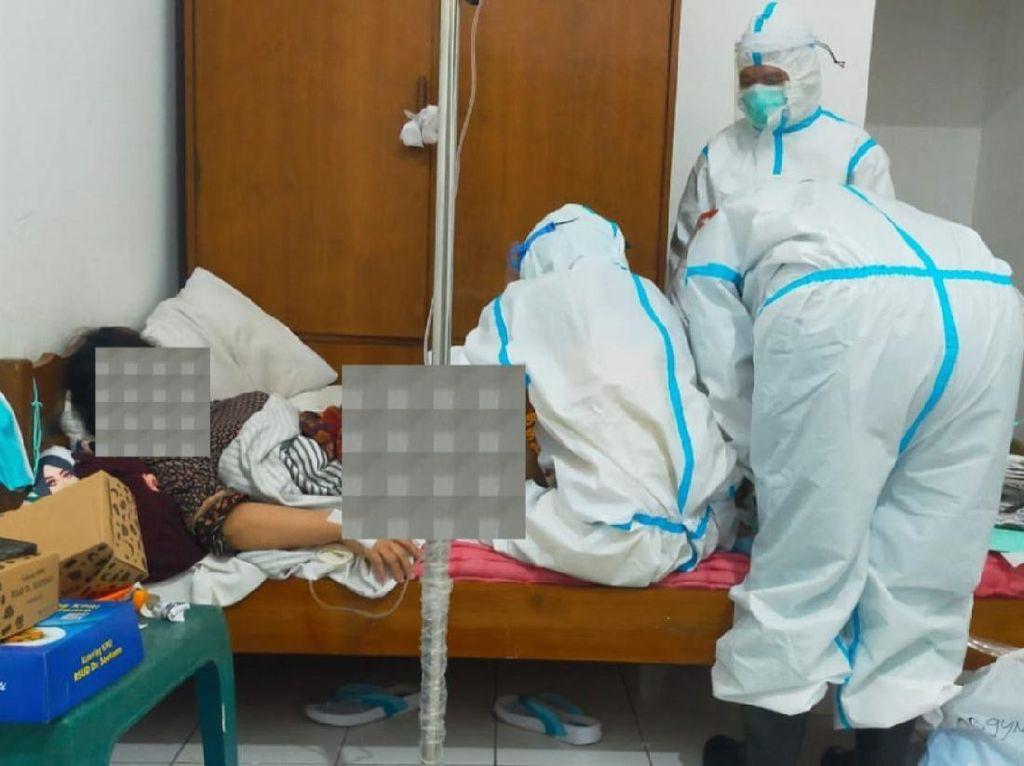 Cerita TKI Positif COVID-19 Melahirkan Bayi Saat Dikarantina di RSLI Surabaya