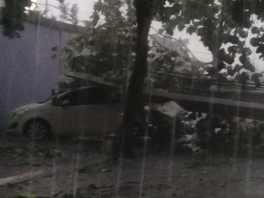 BMKG Ungkap Hujan Es-Puting Beliung di Depok Berpotensi Terjadi Lagi