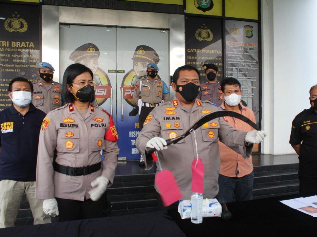 Ditangkap, 4 Pelaku Begal Ojol di Tangsel Ternyata Masih di Bawah Umur