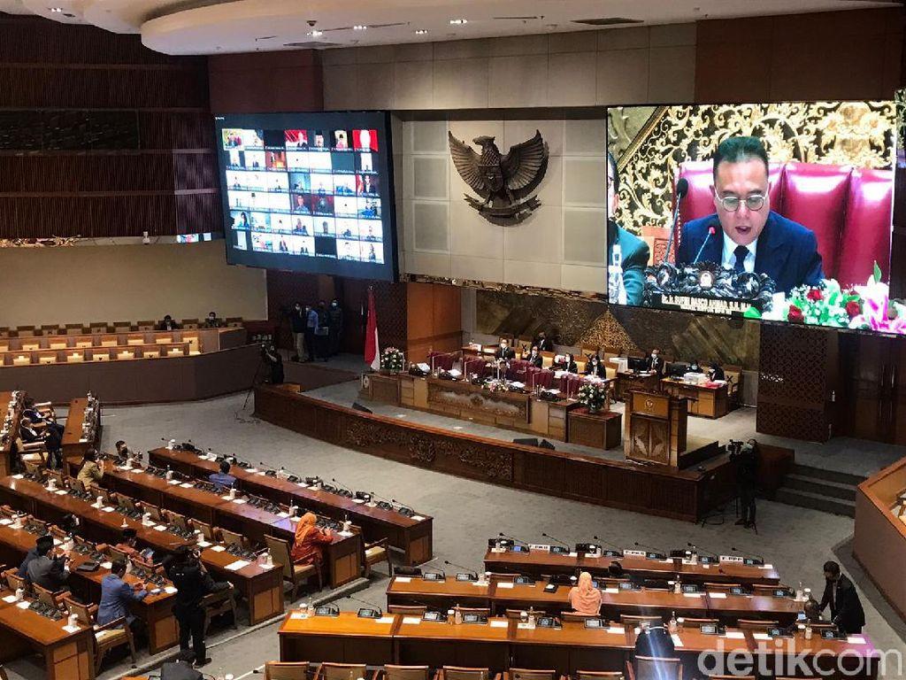 DPR Gelar Rapur Pengambilan Keputusan Calon Anggota BPK-Hakim Agung