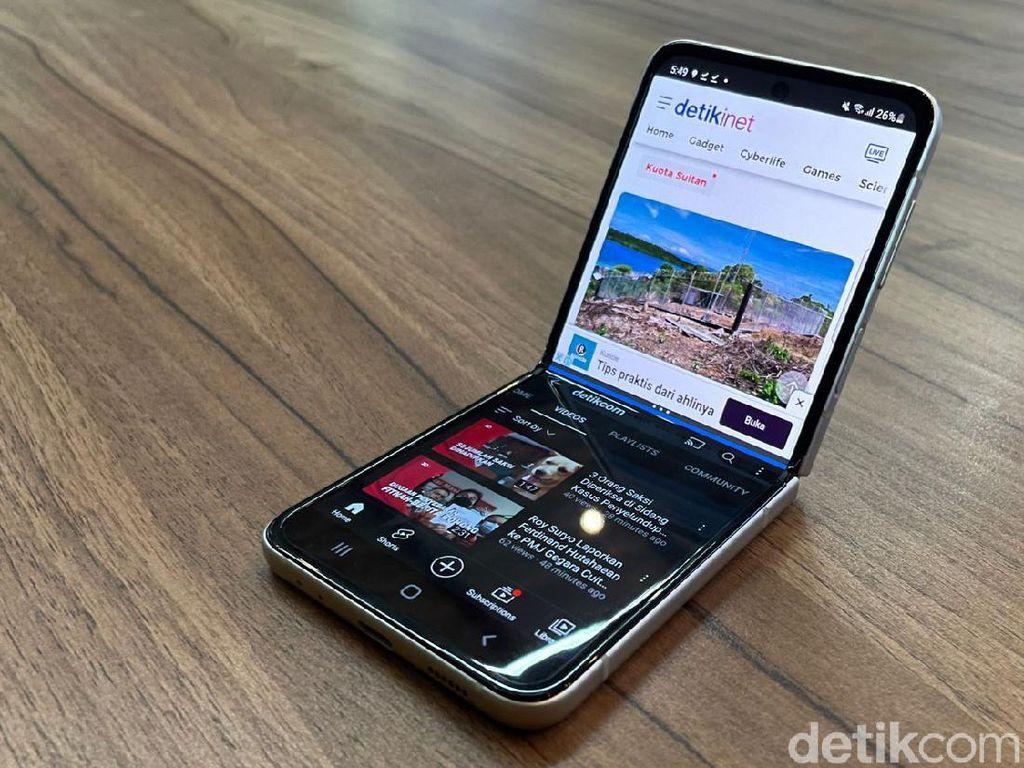 Penjualan Galaxy Z Series Tembus 1 Juta Unit di Korea Selatan