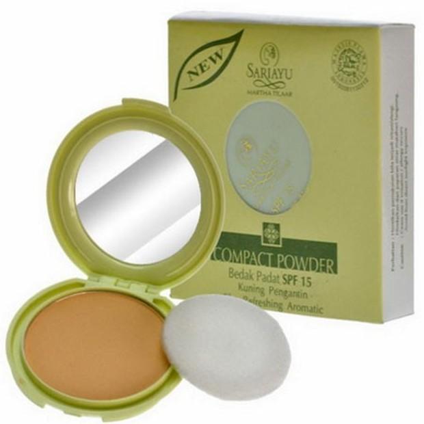 Sariayu Bedak Padat SPF 15 Refreshing Aromatic/ Foto: Bukalapak.com