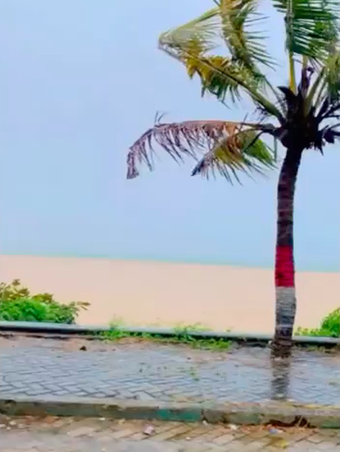 Warna Air Laut Terbelah Dua di Pantai Mandara, Begini Penjelasan BMKG
