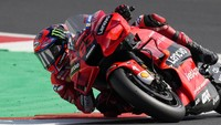 Bagnaia Kuasai Tes MotoGP Misano di Hari Pertama