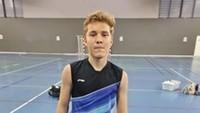 Elias Maublanc, Salah Satu Pebulutangkis Termuda Piala Sudirman 2021