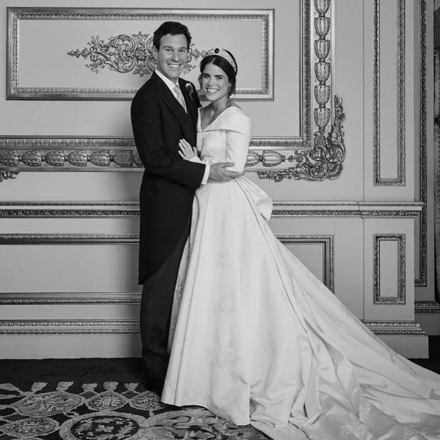 Gaun pengantin Putri Eugenie