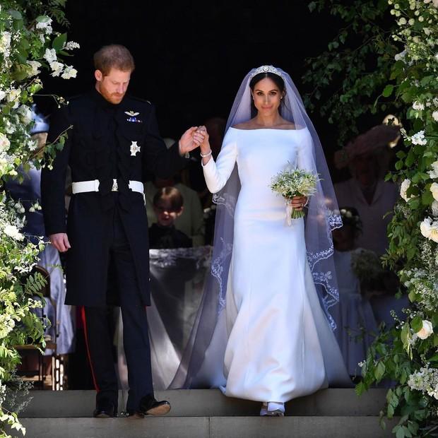 Gaun pengantin Meghan Markle