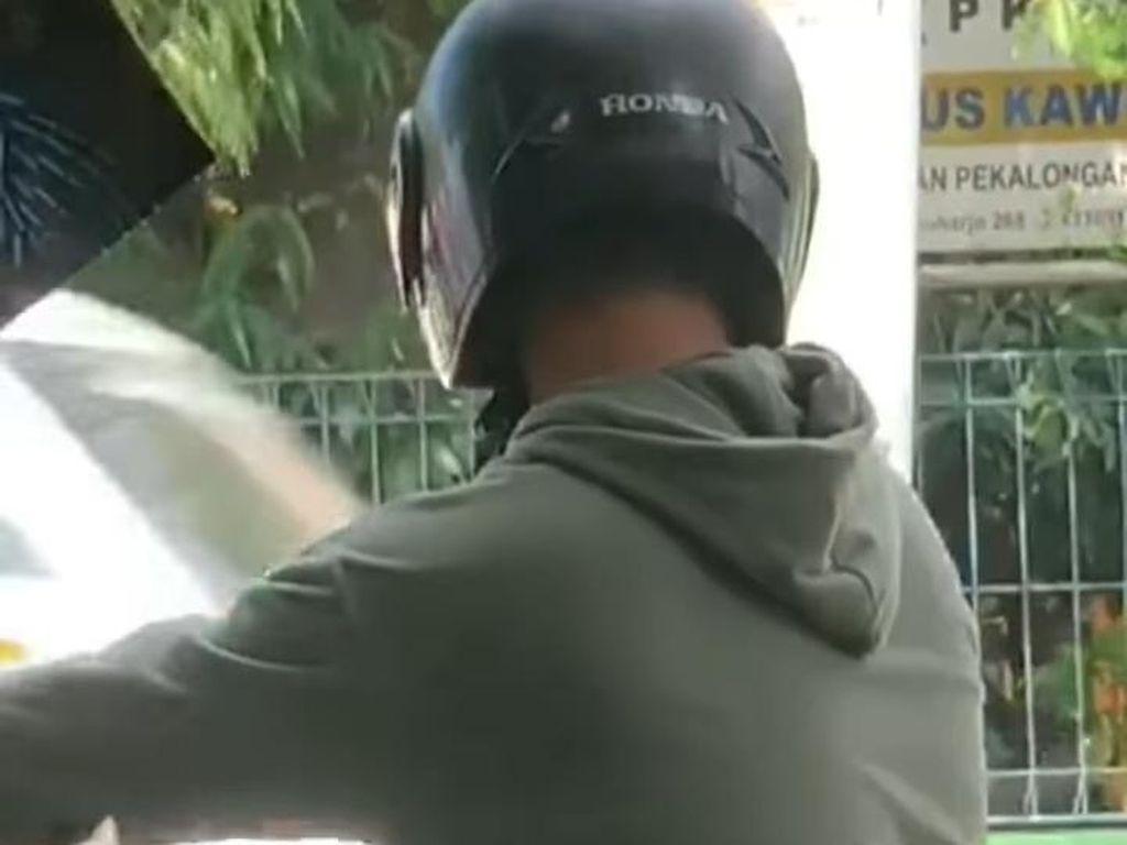 Viral Pemotor Onani di Pinggir Jalan Kota Pekalongan