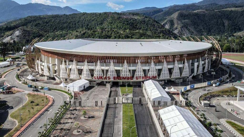 Sandiaga Uno Sambangi Venue PON XX Papua