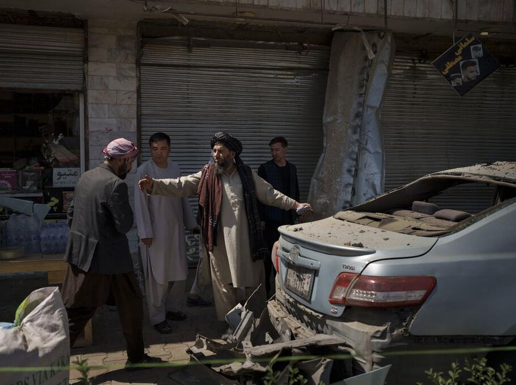 Demo Warga Pakistan Tuntut Taliban Basmi ISIS di Afghanistan