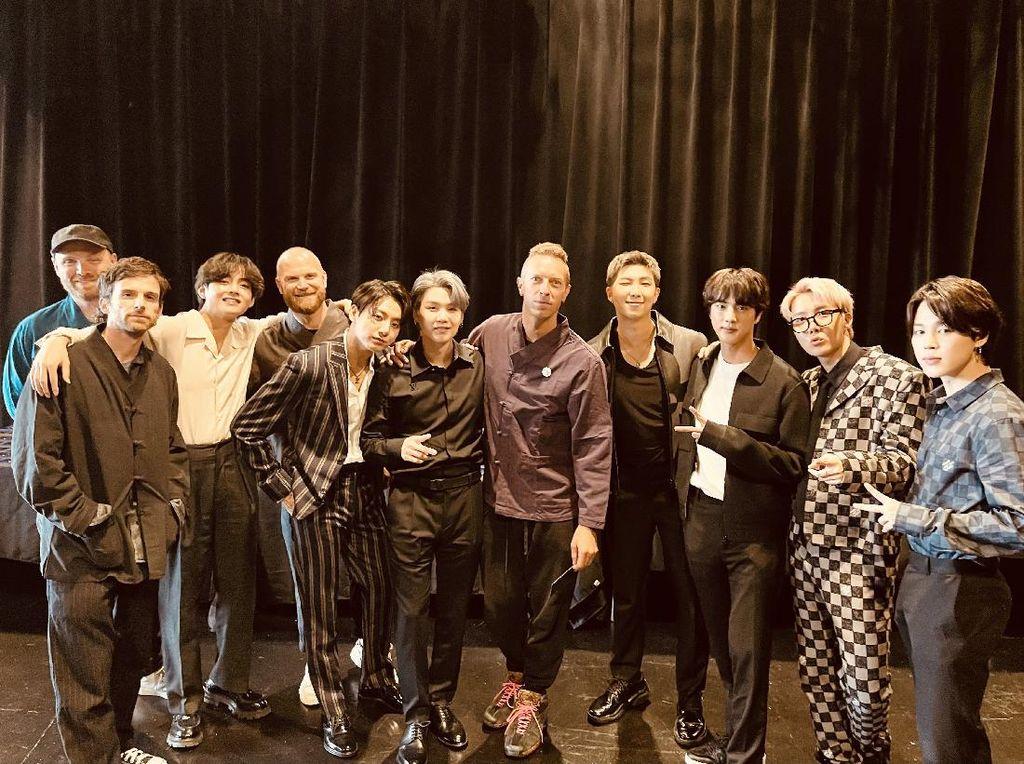 Coldplay dan BTS Rilis My Universe, Hal Personal dari BTS Ini Ditampilkan