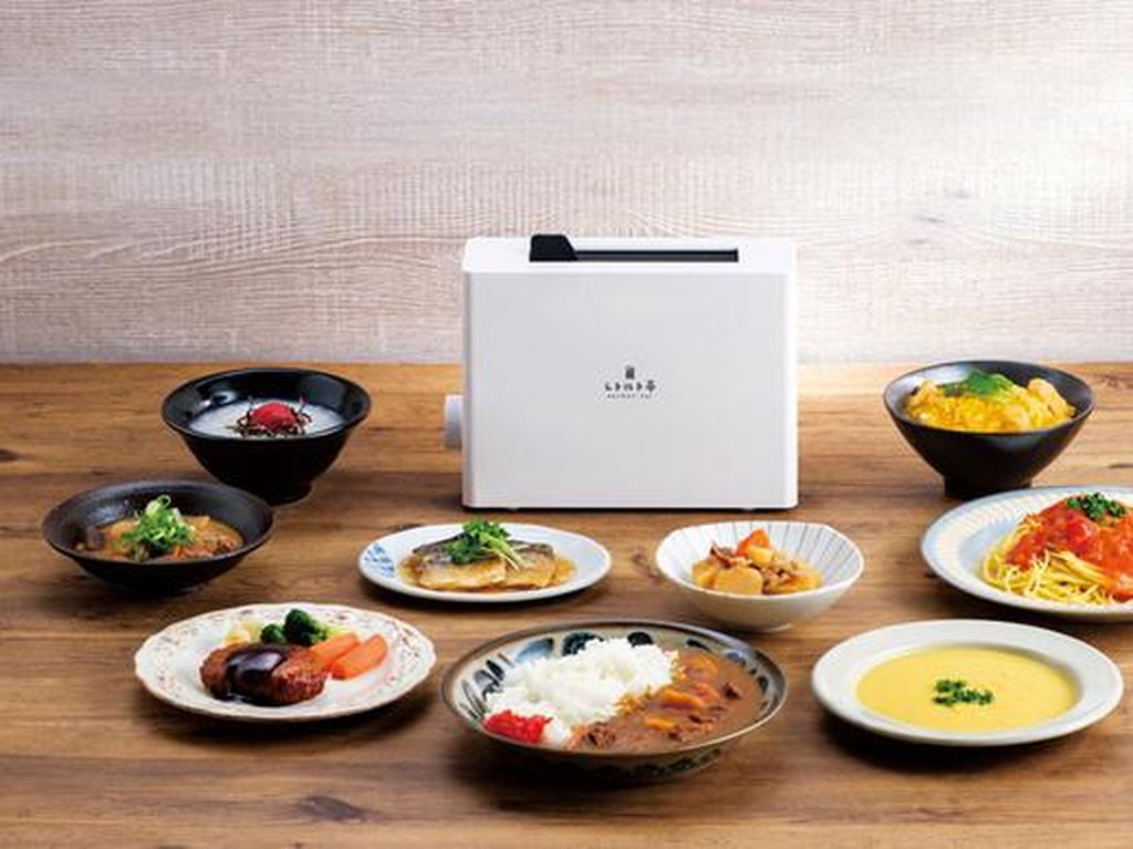 Cocok Buat Kaum Rebahan, Mirip Toaster, Alat Ini Bisa Hangatkan Makanan Instan