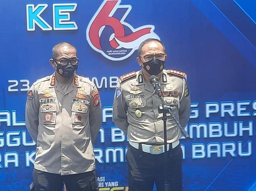 43 Anggota Polantas Polda Metro Gugur Akibat Virus Corona