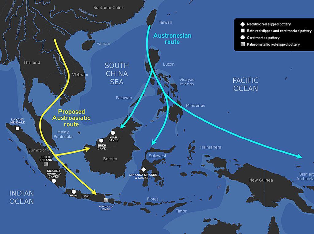 Jalur Barat Bangsa Deutro Melayu ke Indonesia, Ini Wilayahnya