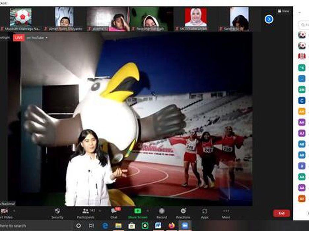 Kemenpora Edukasi Siswa soal Sejarah Olahraga Lewat Virtual Museum Tour