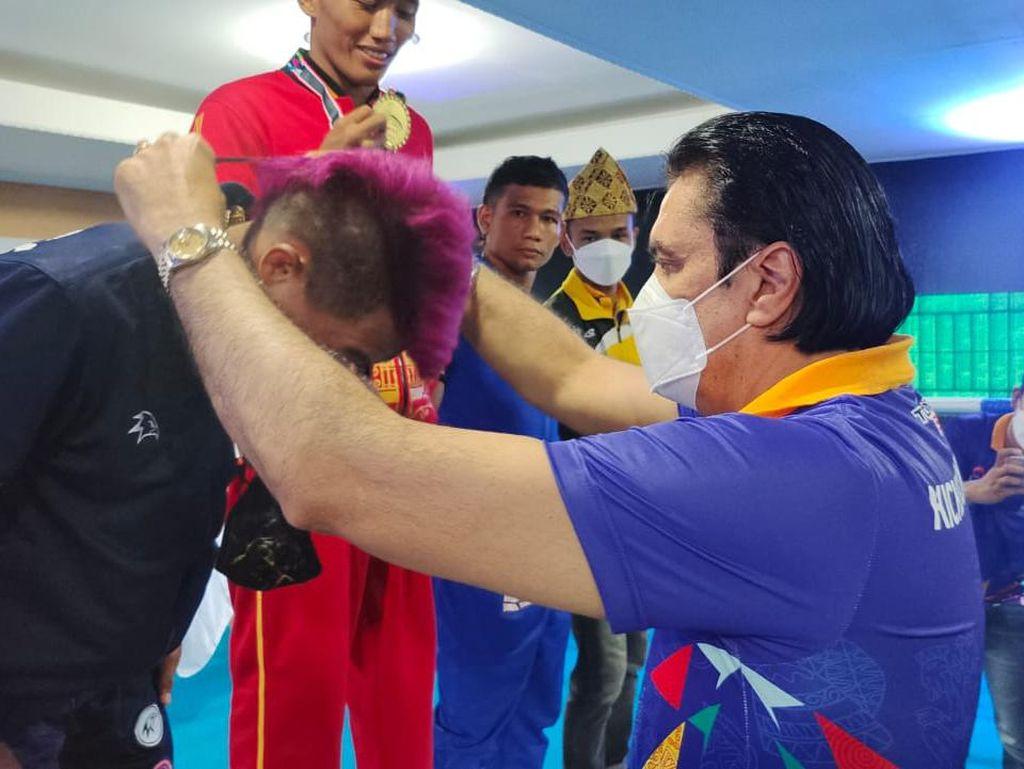 Jawa Tengah Juara Umum Ekshibisi Kickboxing di PON Papua