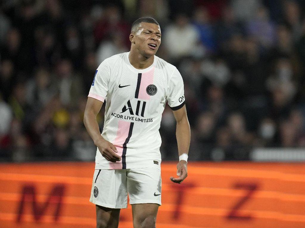 Metz Vs PSG Ricuh, Sikap Mbappe Dikritik
