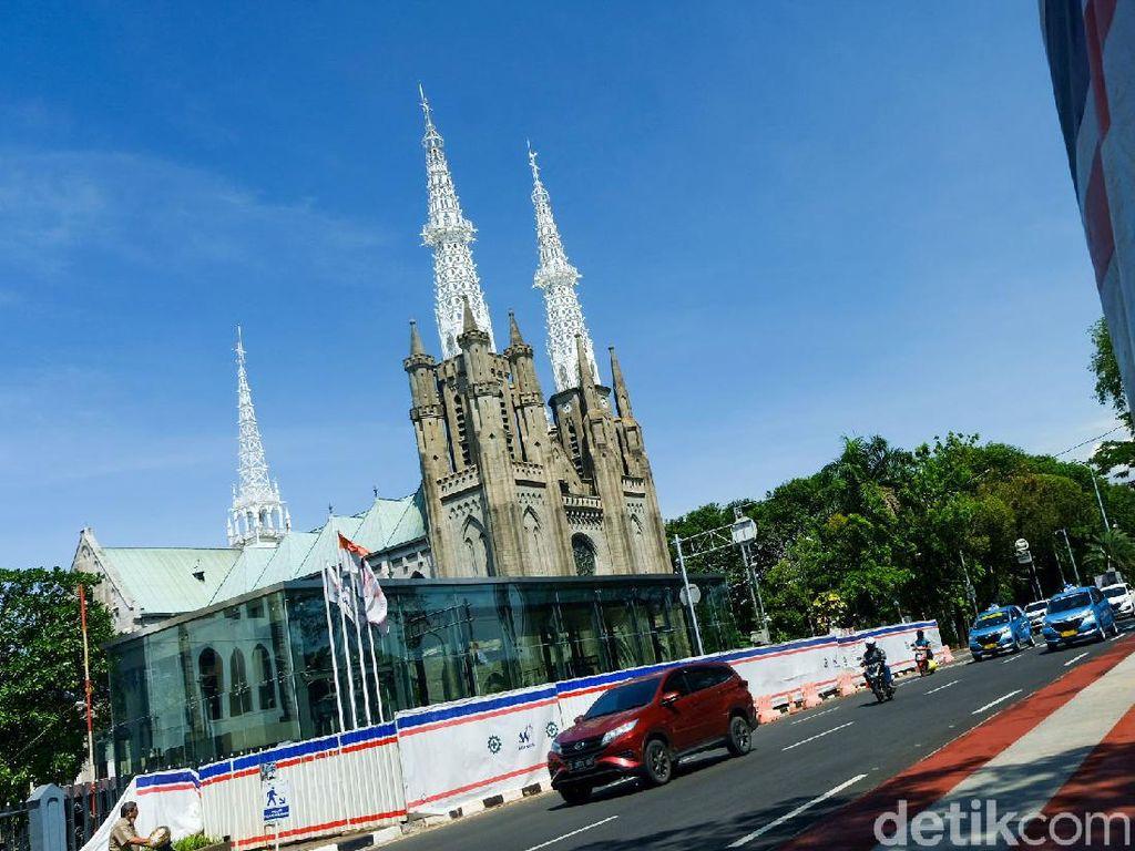 Gereja Katedral Jakarta Sudah Gelar Misa Tatap Muka