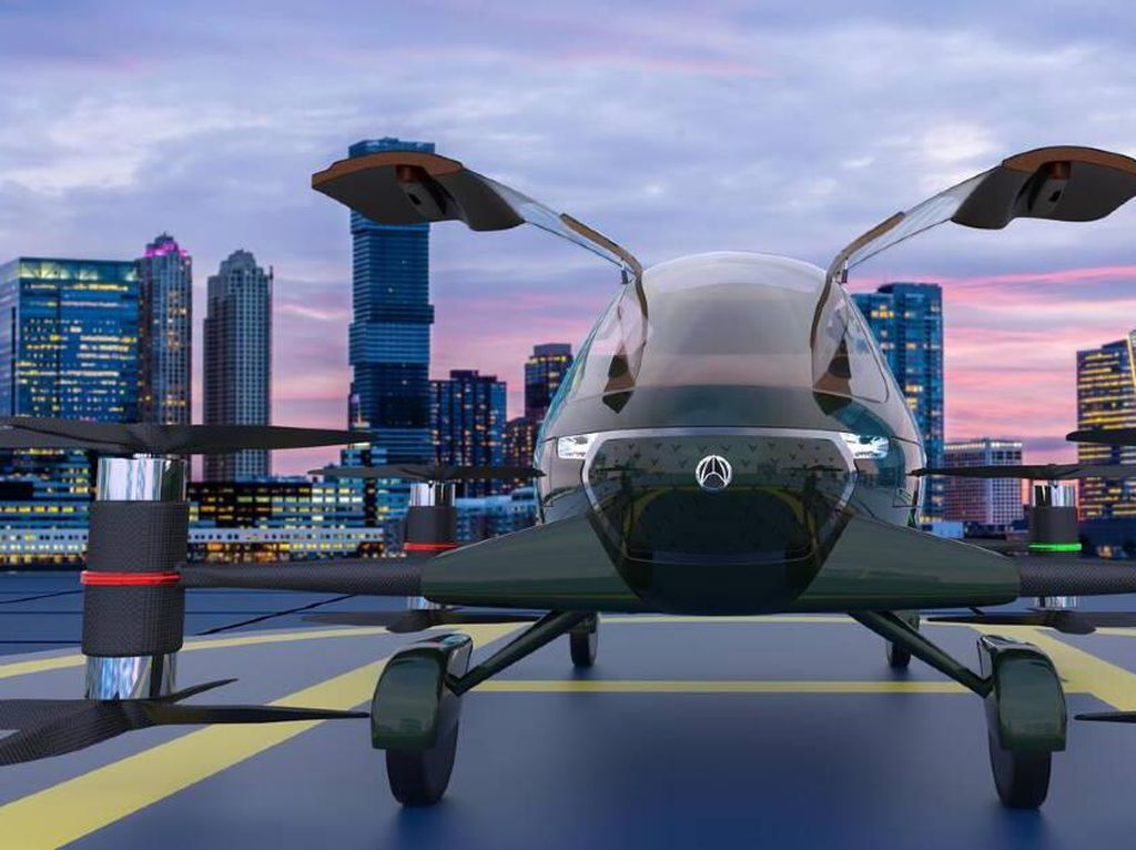 Wow! India Bikin Mobil Terbang, Siap Melangit Bulan Depan
