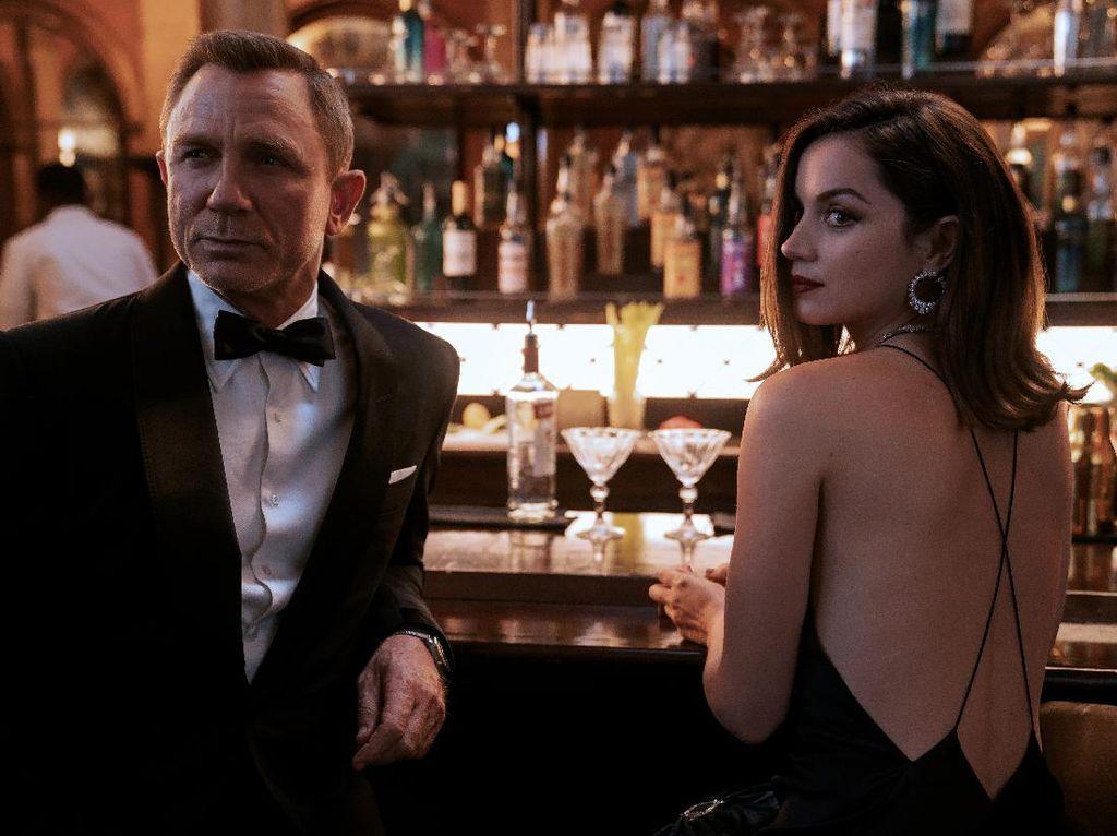 No Time To Die! Wajah Rusak Rami Malek di Film James Bond