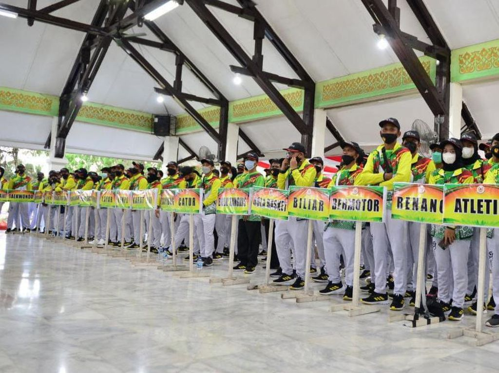 PON Papua: 5 Atlet Riau Positif COVID-19, Batal Diberangkatkan