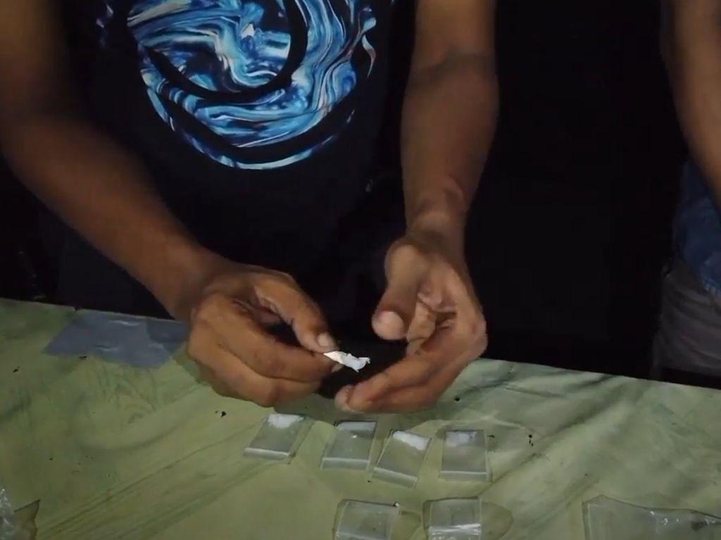 Sembunyikan Sabu di Puntung Rokok, Pria di Kendari Dibekuk