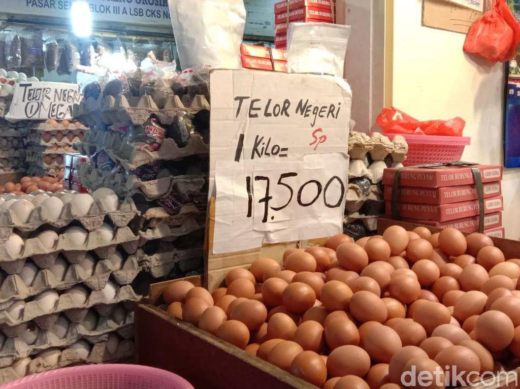 Parah! Harga Telur Makin Anjlok, Cuma Rp 17.000/Kg