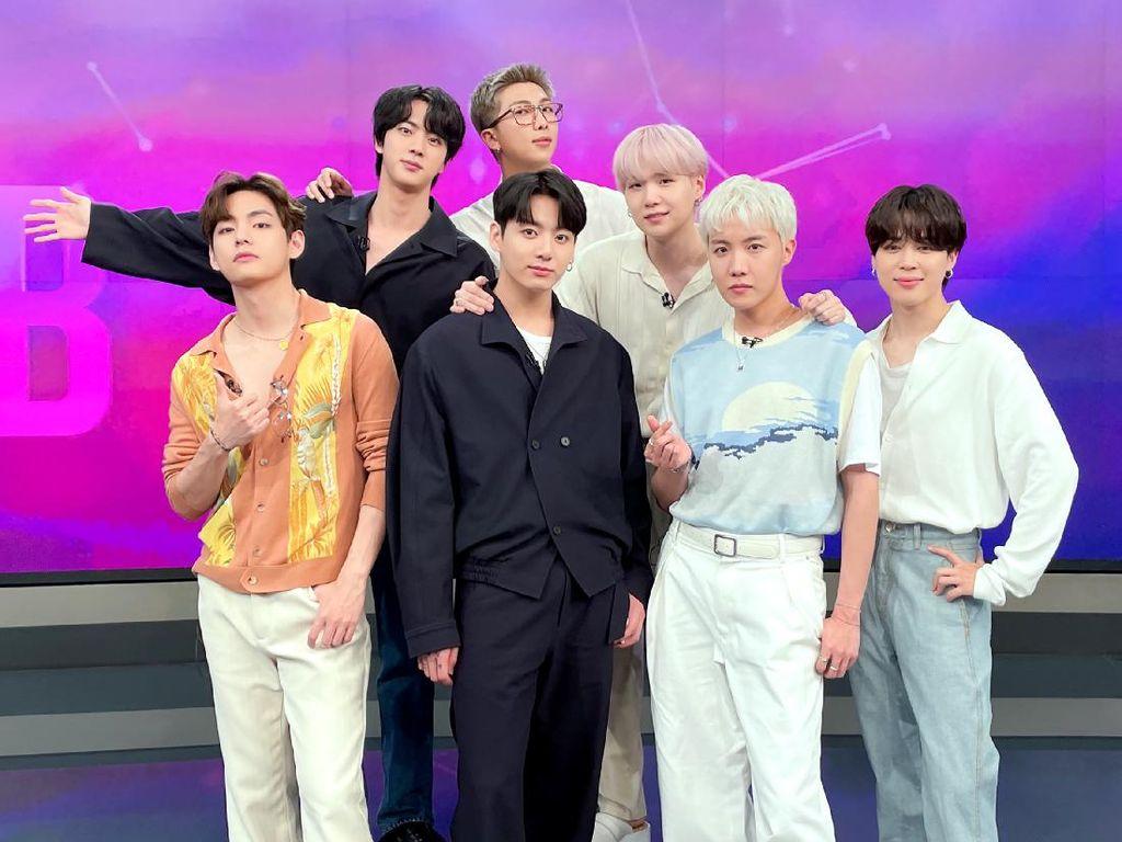 BTS Bersanding dengan The Beatles, Cetak Rekor Baru di Chart Billboard