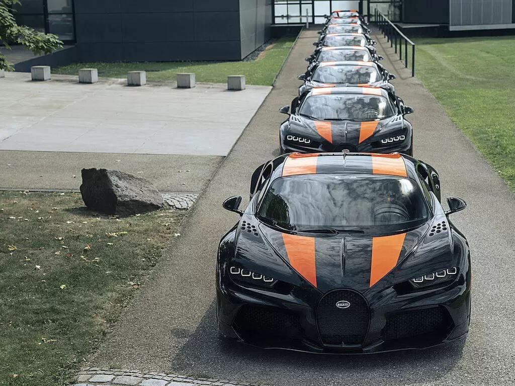 Bugatti Rp 58 M Paling Kencang Selesai Diproduksi, tapi Maaf Udah Ludes Nih