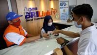 Kerennya Gerai BRILink di Lampung yang Dibuat Mirip Kantor Bank