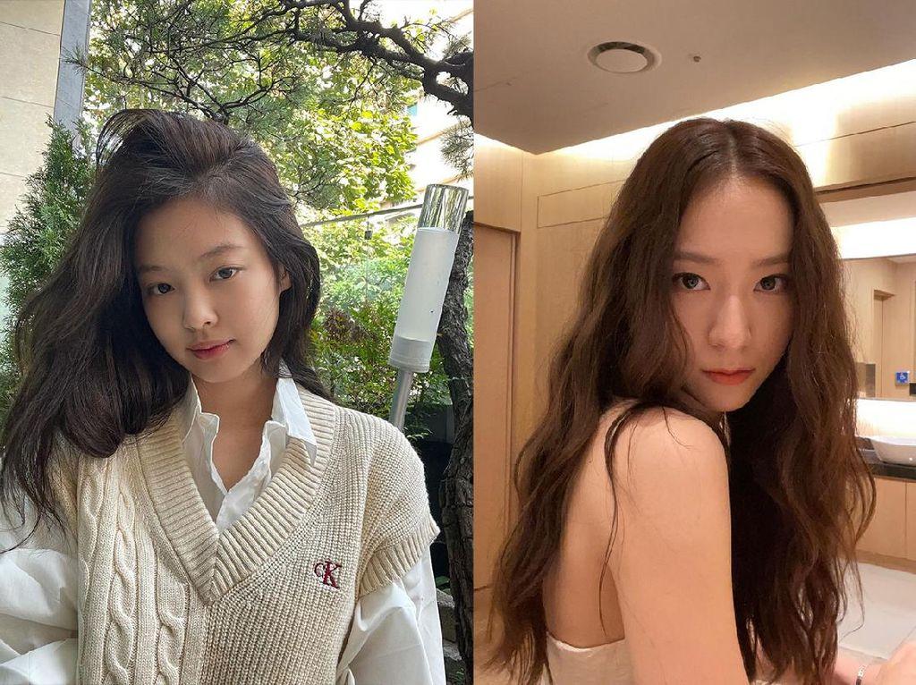 Adu Gaya Krystal Jung dan Jennie BLACKPINK, Dua Ratu K-Pop!